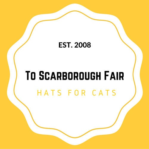 ec9bc3d9b Hats for cats. The original by ToScarboroughFair on Etsy