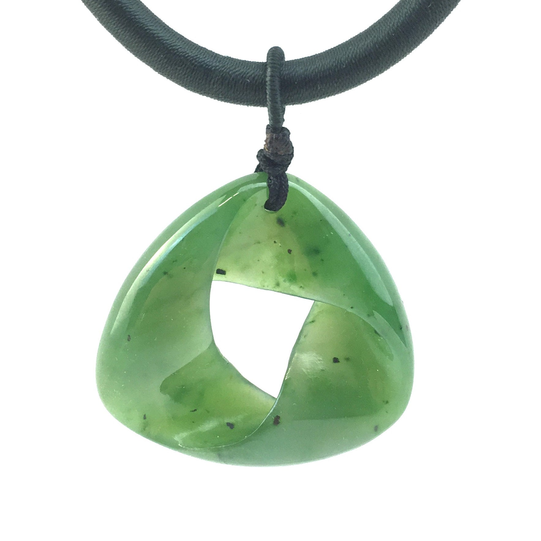 Pear Shape AG-9994 Pendant Stone Pretty Look Nephrite Jade With Corundum Cabochon Nephrite Suppliers Jewellery Making Size 35x15x6 MM