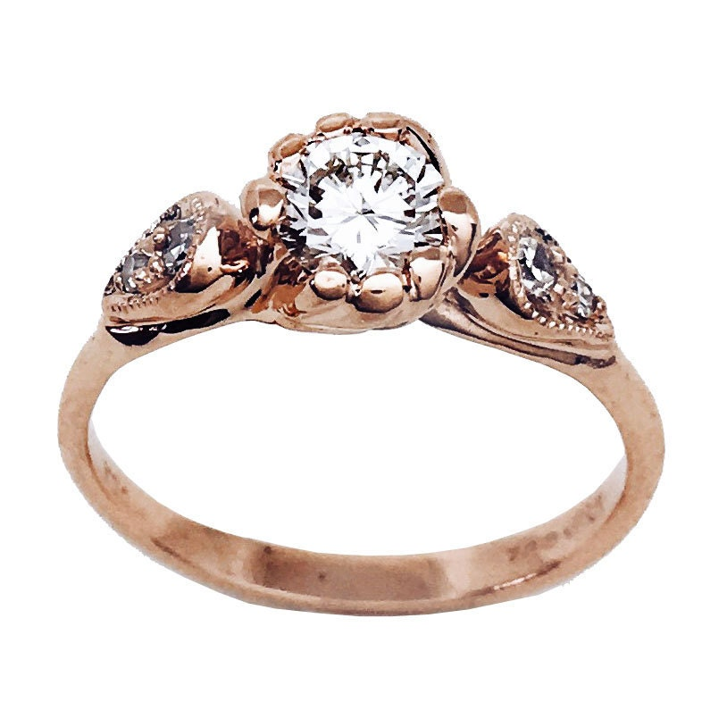 Wildly Romantic Engagement Rings And Wedding Bands By Nestedyellow