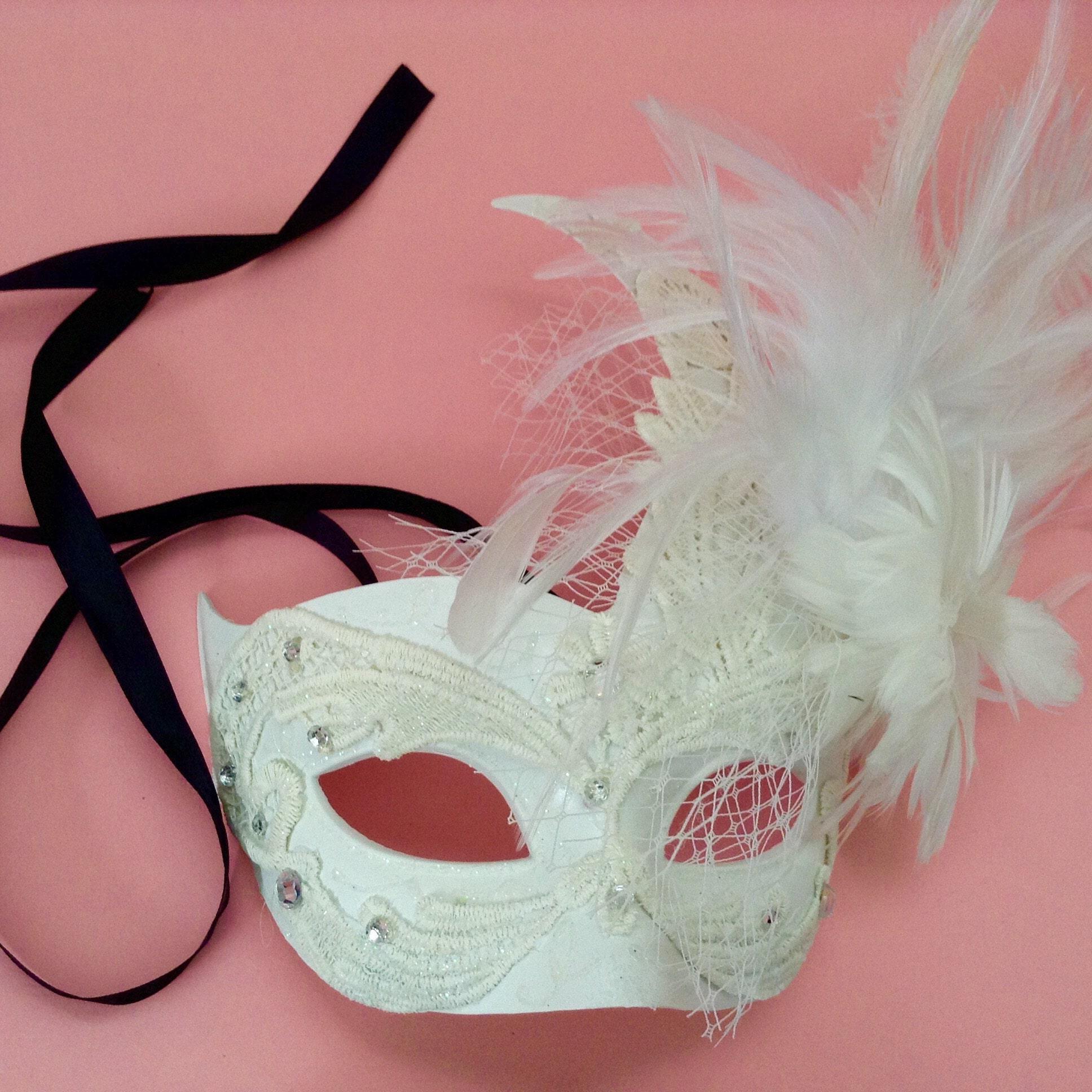 Dia De Los Muertos half face Sugar skull Mask flower day of   Etsy