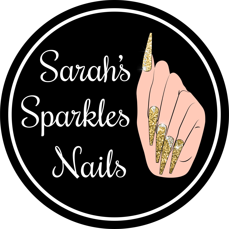 Press On Nails Hand Painted Fake Nails von SarahsSparklesNails