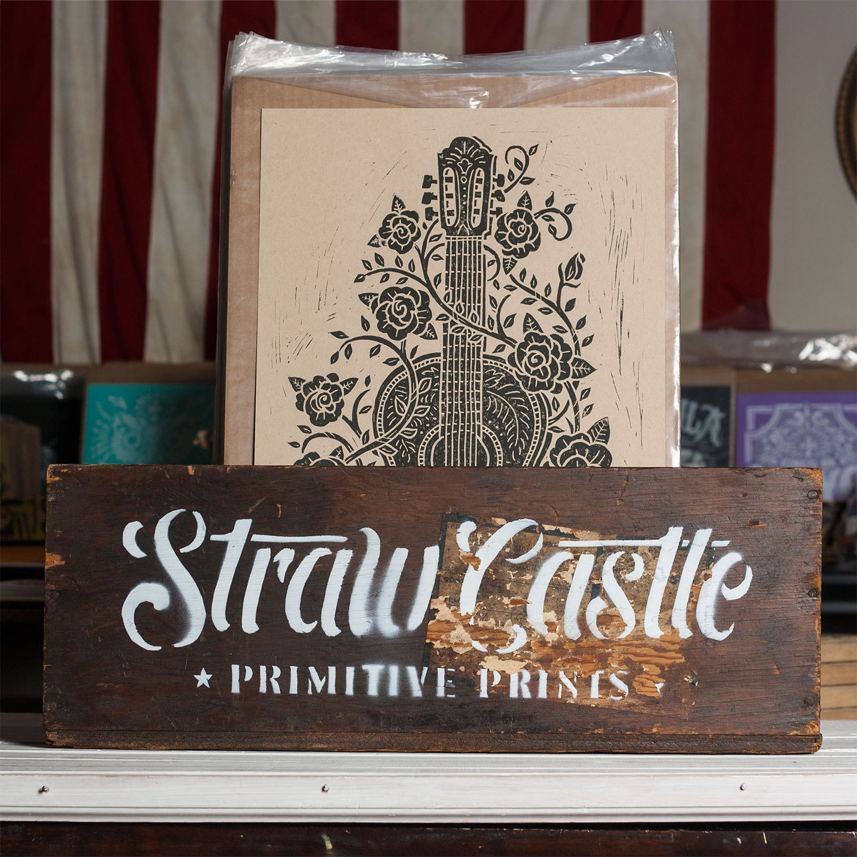 Straw Castle Design von strawcastle auf Etsy