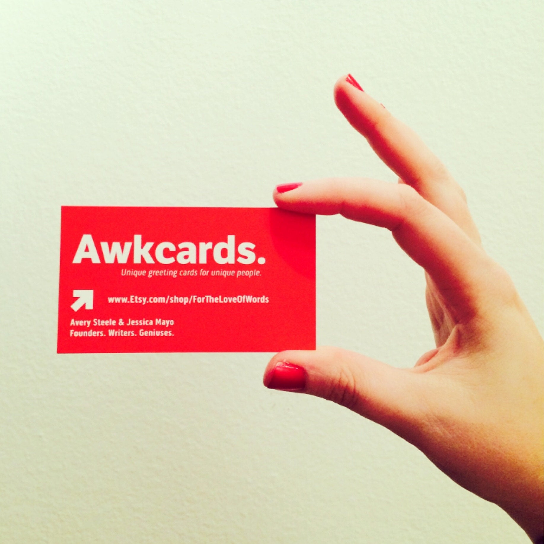 Awkcards By Fortheloveofwords On Etsy