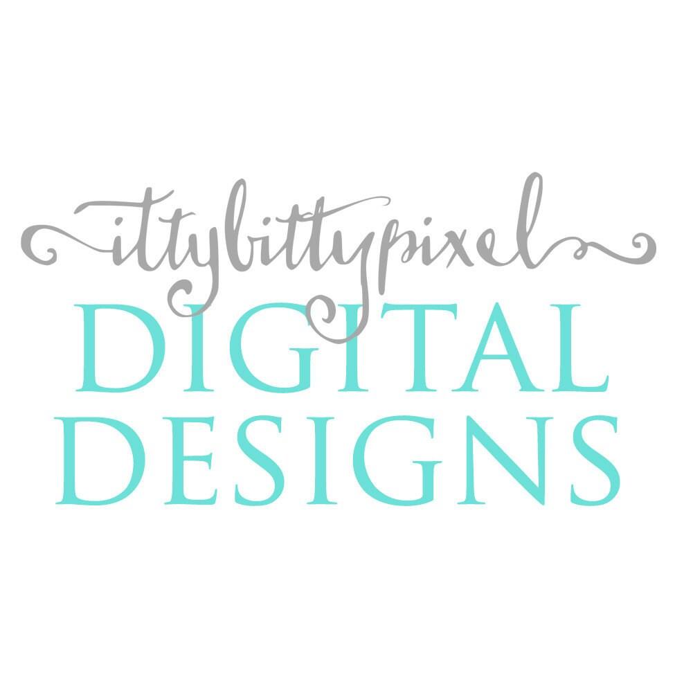 Digital designs for every Itty Bitty part of von IttyBittyPixel