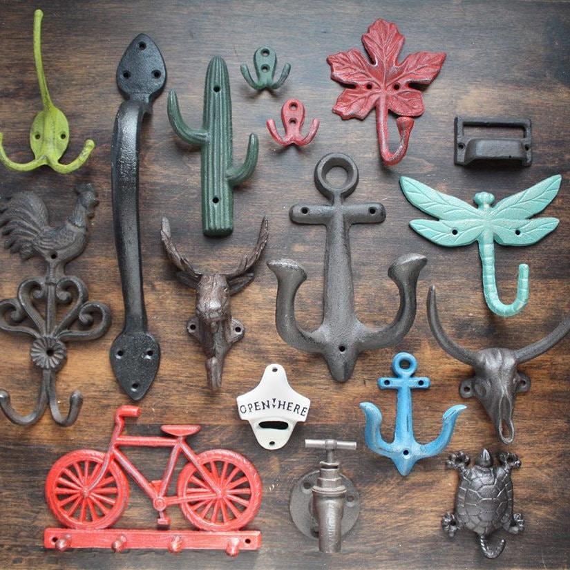 Cast Iron Hooks And Hardware By Castironhooks On Etsy