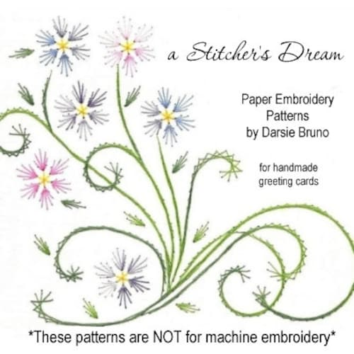 A Stitchers Dream Paper Embroidery By Darse On Etsy