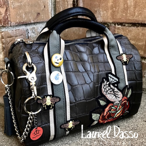 799e62fc19 Luxury Hand Crafted Leather Bags by LaurelDassoLeathers on Etsy