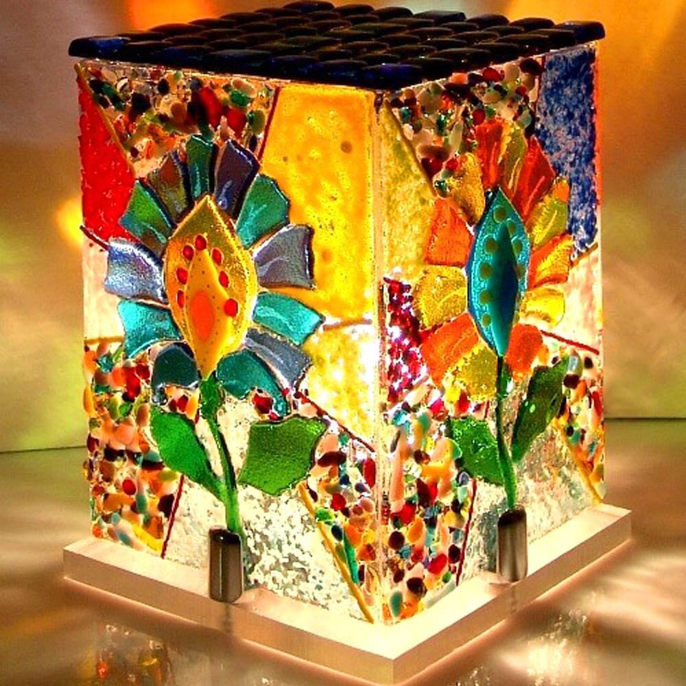 Handmade Fused Glass fishhome decor Fused Glass Art | Etsy