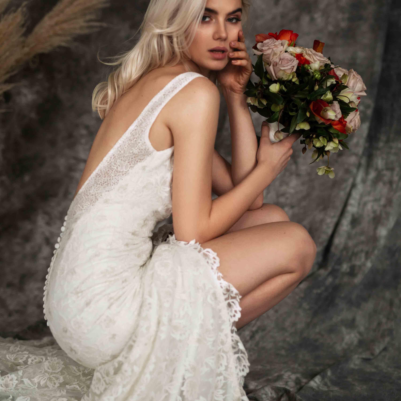 boho wedding dress beach wedding dress unique von