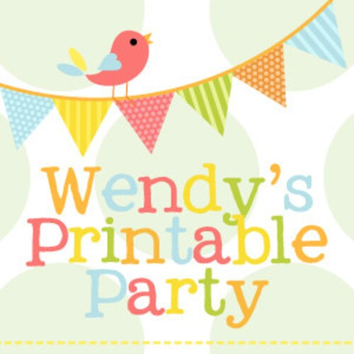 graphic about Wendy's Printable Application called Printable Desire Containers Social gathering Packs by means of WendysPrintableParty