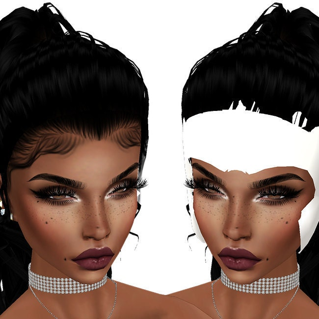 Baby Hair And Mesh For IMVU by oChevi on Etsy