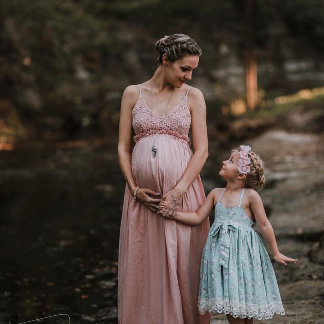 Maternity Pregnancy White Lace Dress Milk Bath Dress For Photo | Etsy