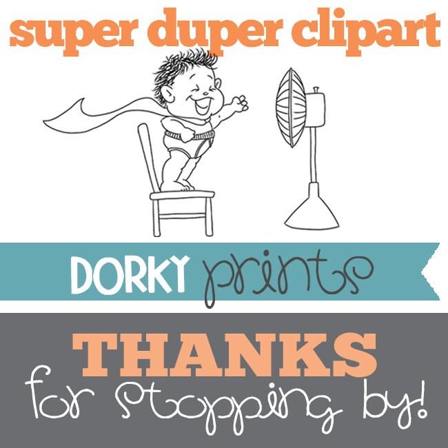 07d0d6cb3 Digital Clip Art and Printables. Made by a dork. by DorkyPrints