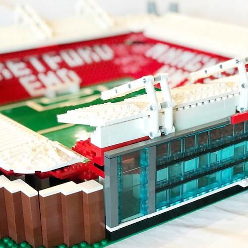 Custom Designed Lego Sports Stadiums By Stadiumbrick On Etsy