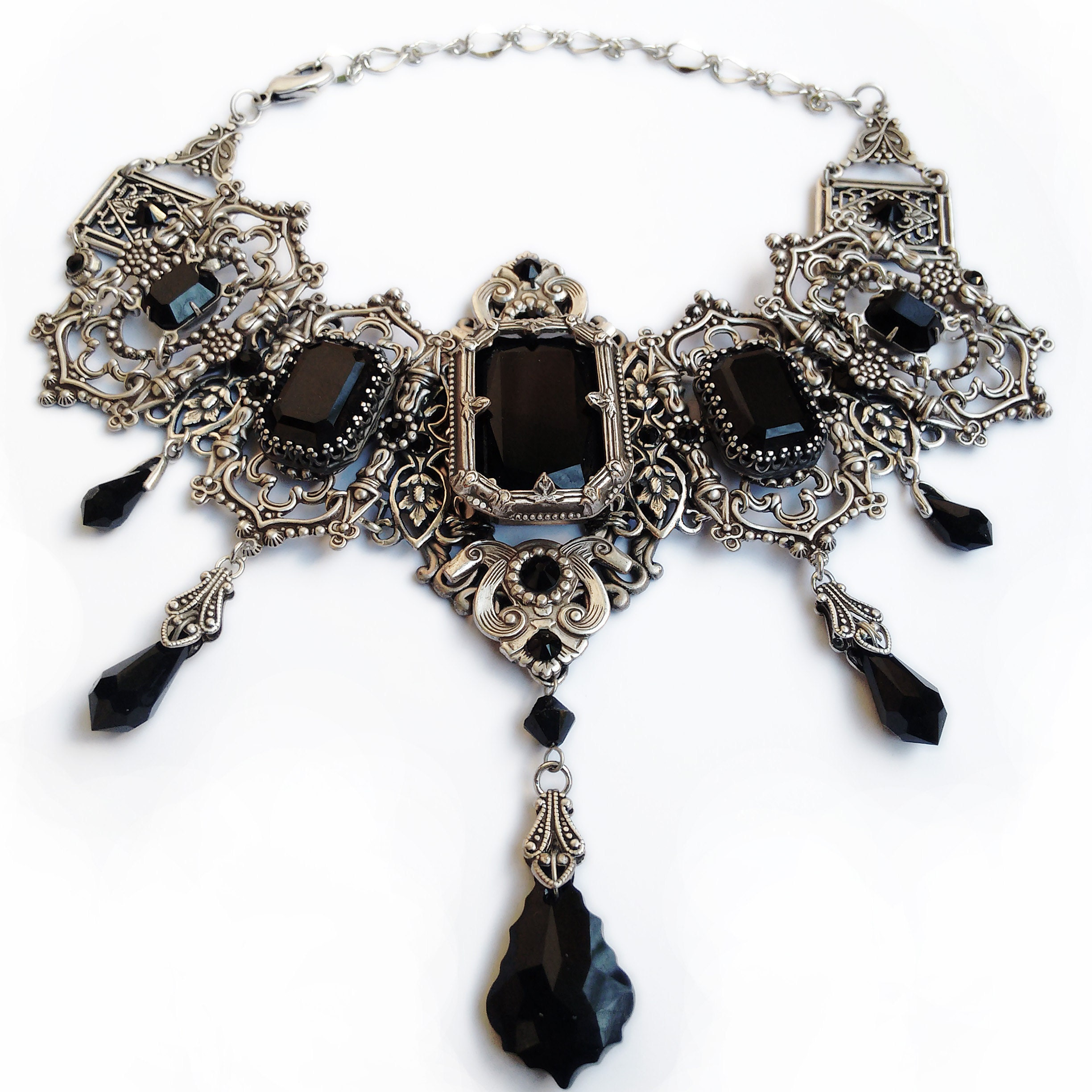 42fd638197 Victorian Gothic Jewelry Vintage Style Bridal Jewelry by Aranwen