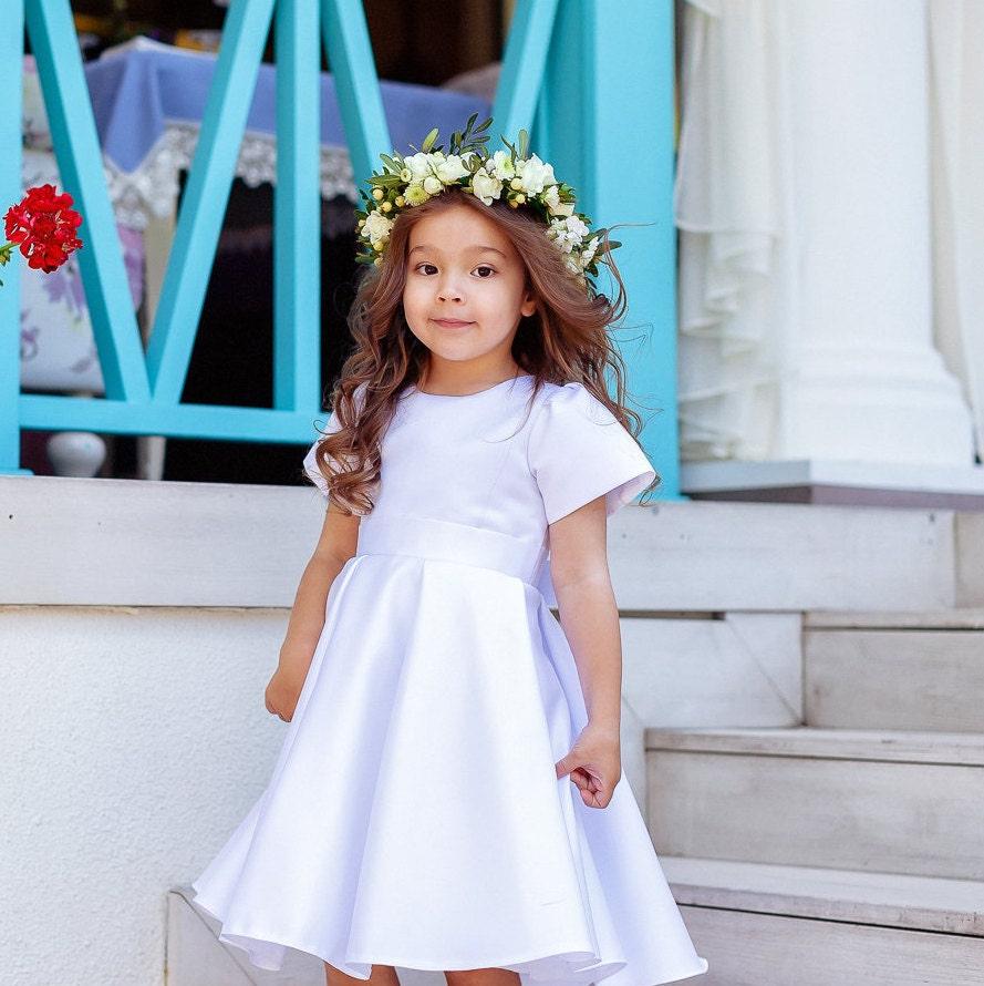 Tutu Flower Girl Dress Gold And Pink Flower Girl Dress Etsy