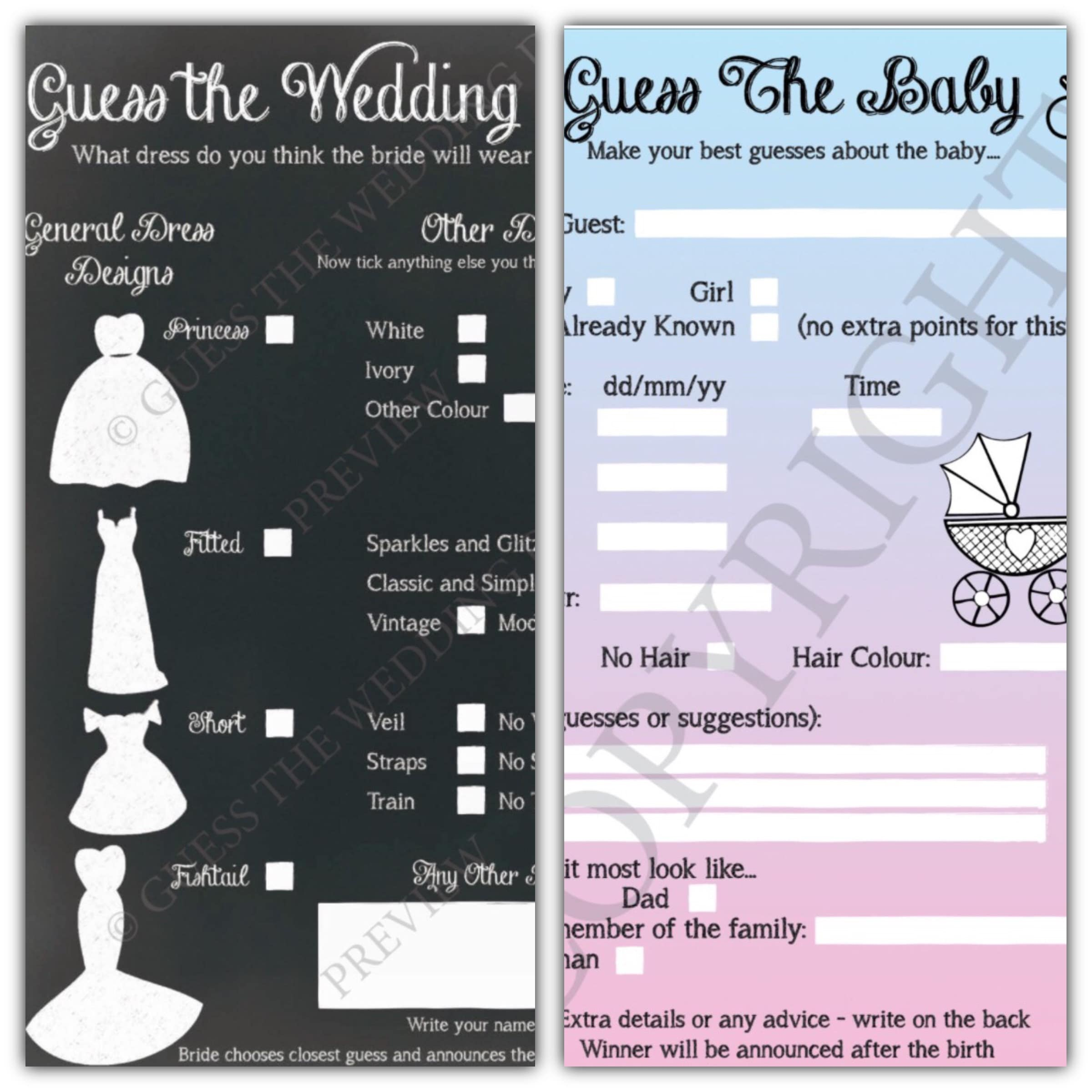 4af8d67b023 Two Fun Games to Play Before The Most by GuessTheWeddingDress