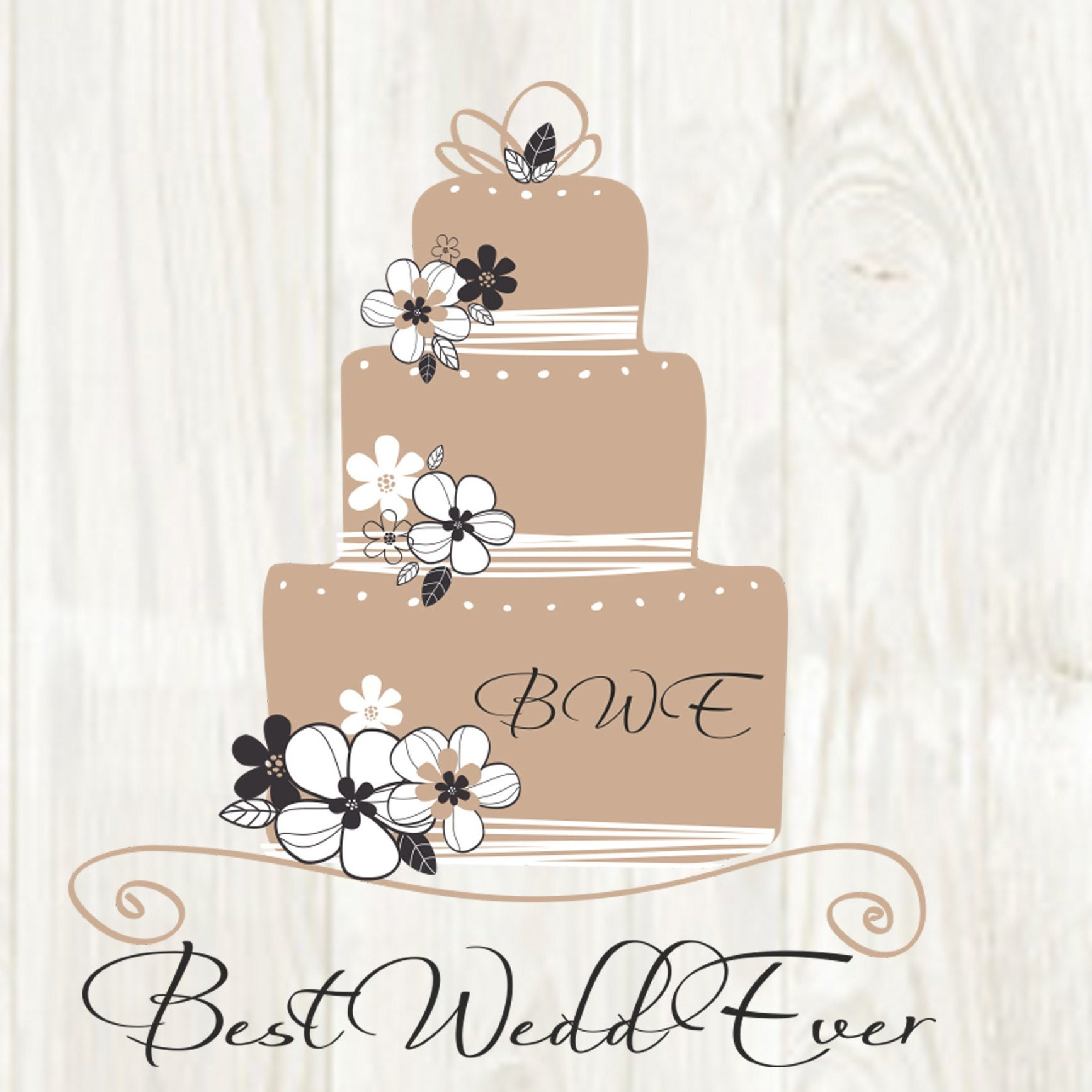 Wedding cake toppers Save the Dates Invitations by BestWeddEver