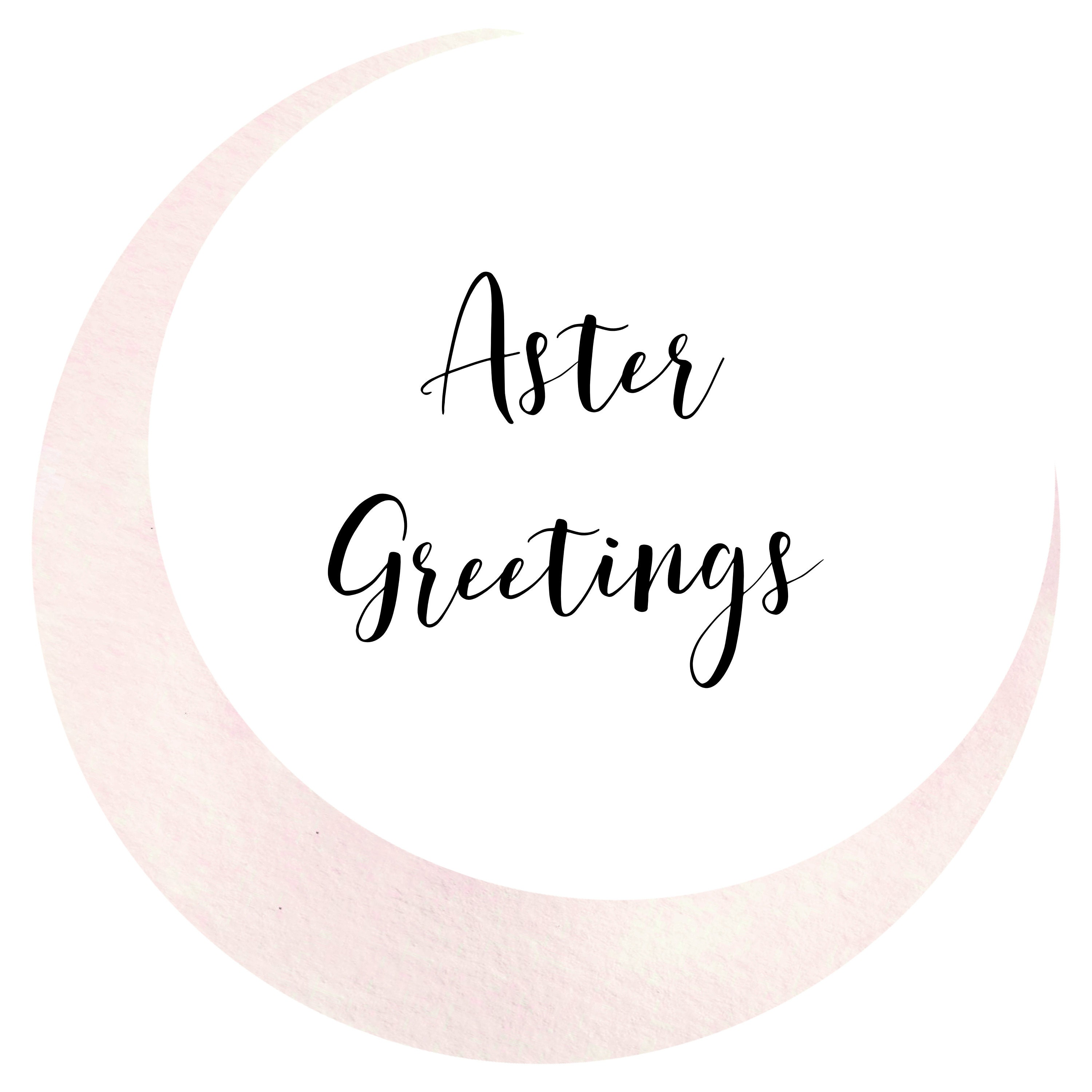 Aster Greetings Watercolor Greeting Cards by AsterGreetings