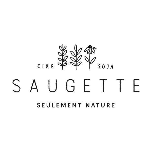 Bougies parfumées artisanales à la cire de soja par Saugette