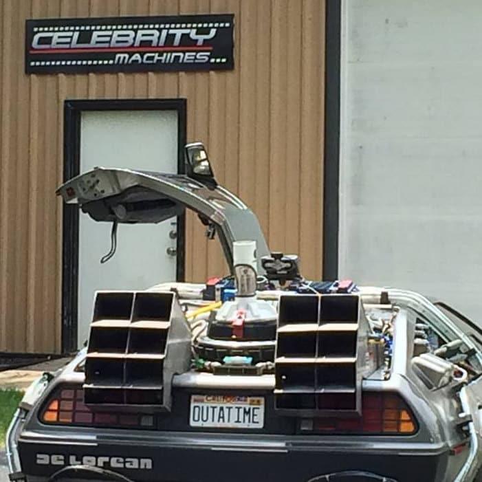 62/Corvette C1/ Celebrity Machines Lucifer fall1/N1/ Metall Pr/ägung Vanity Prop License Plate