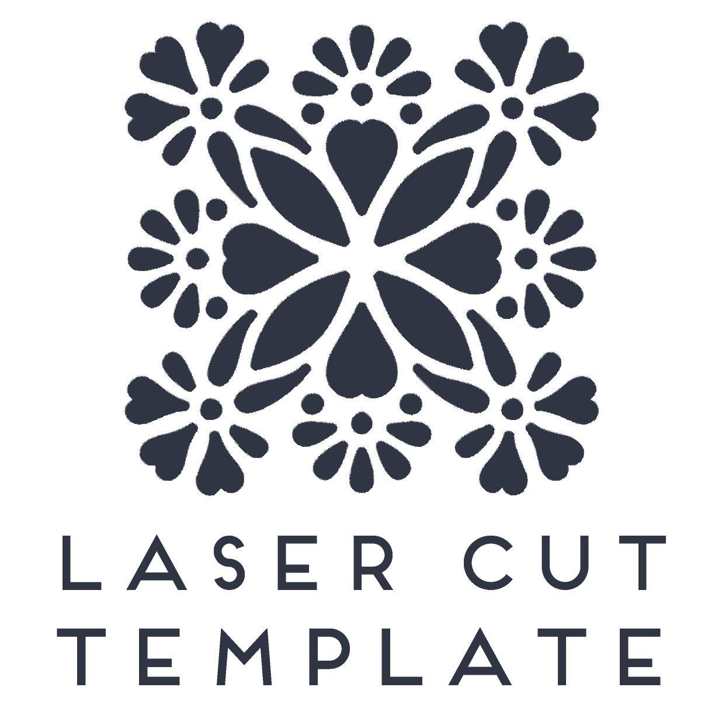 Laser cut Mandala Template. Template for laser cut decoration | Etsy