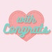 With Congratulations