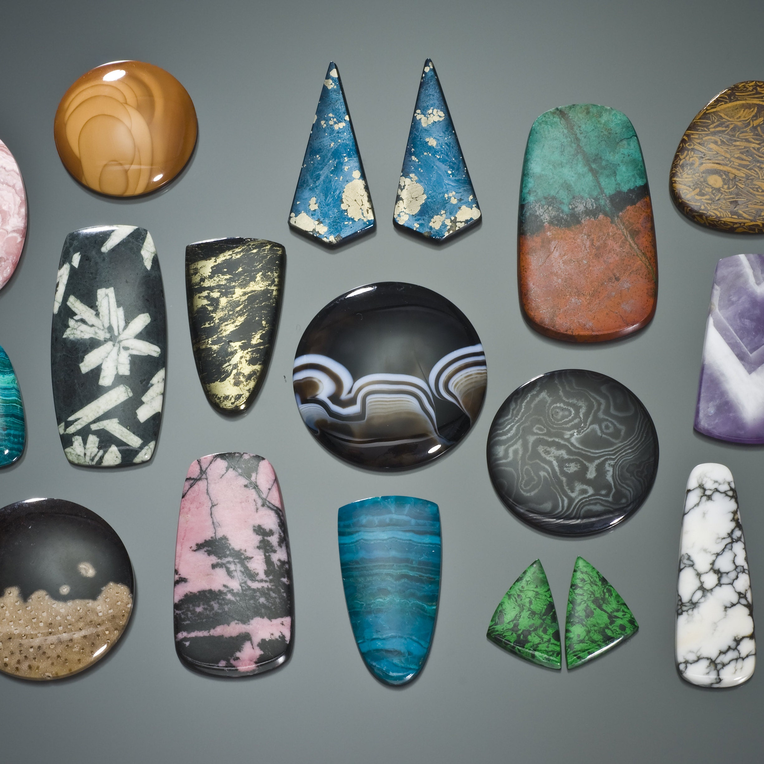 Egg Shaped Arizona Pietersite Polished Stone Semi Precious 2.4 inch #E3