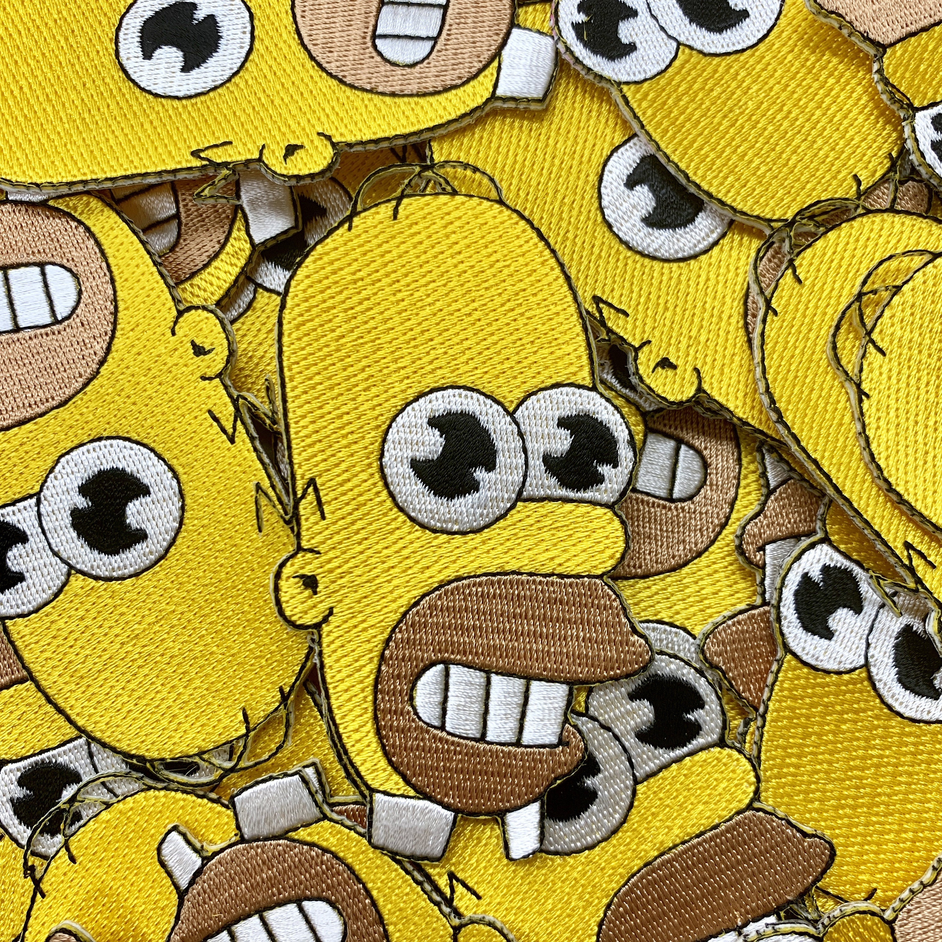 Psyduck Eating Ramen Pokemon Embroidered Custom Iron-On or Sew-On Patch Custom Patches Ramen Patch Limited Edition Patches Charmander