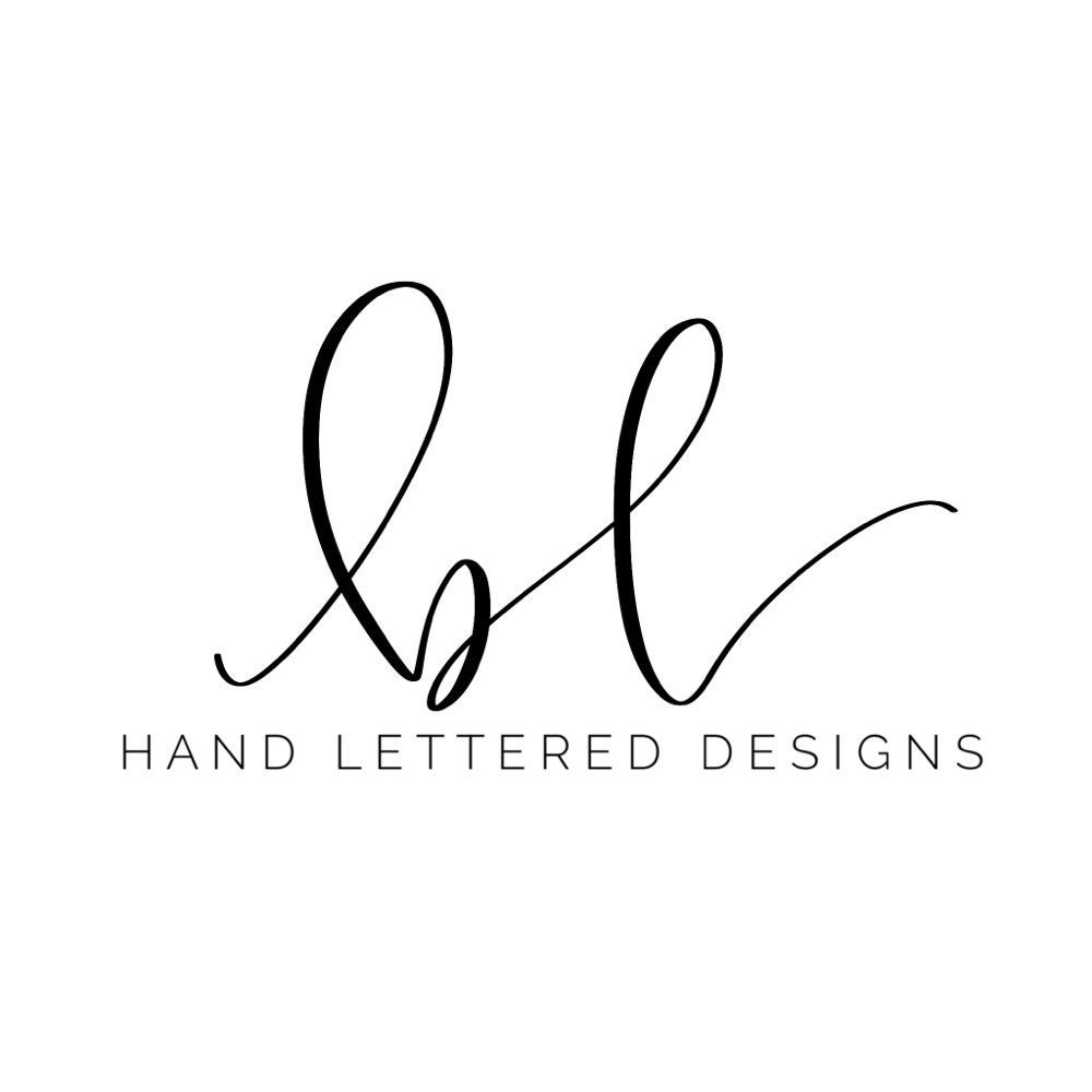 Hand Lettered Designs by brittanylettering on Etsy