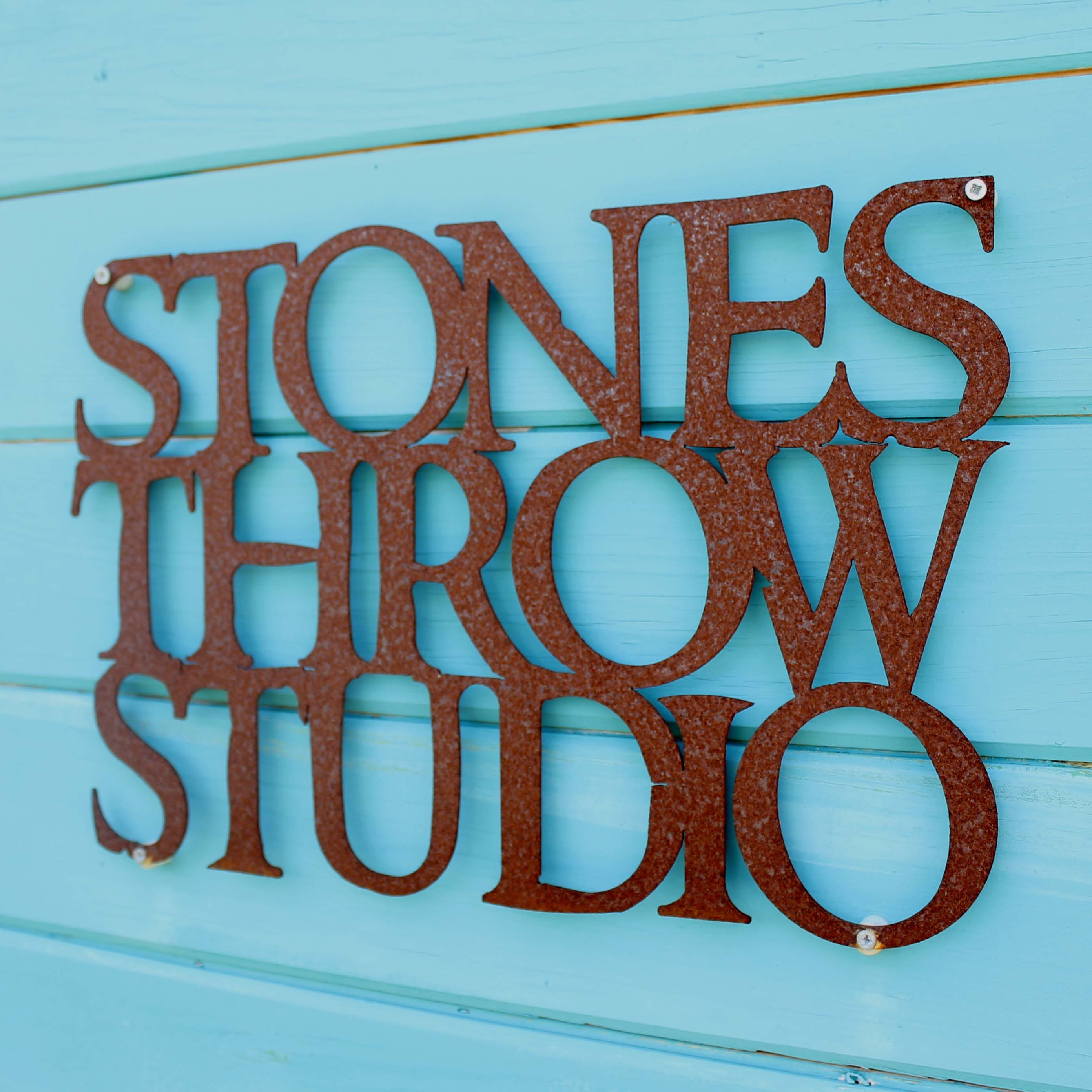 Image result for stones throw studio logo