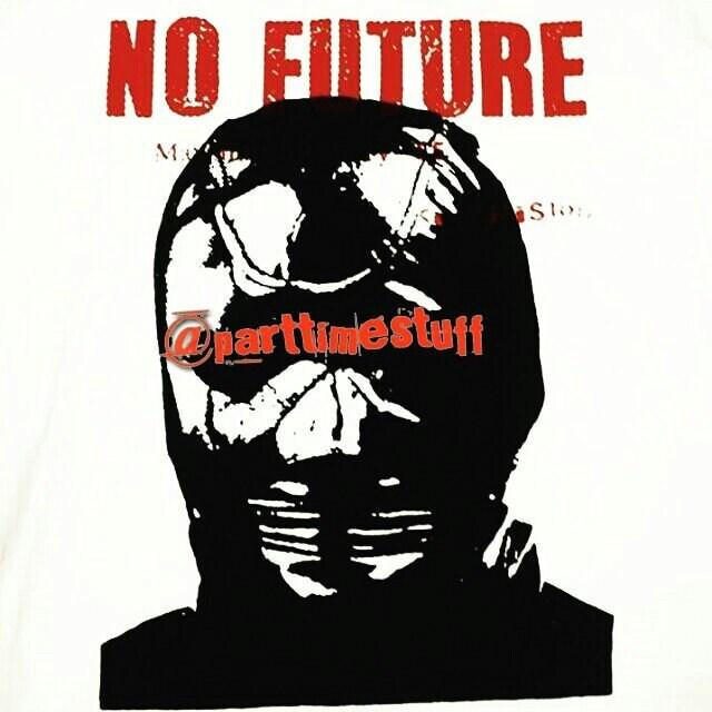 86f1f020b08 Rare Vintage No Future Brand Sex Pistols god save the queen | Etsy