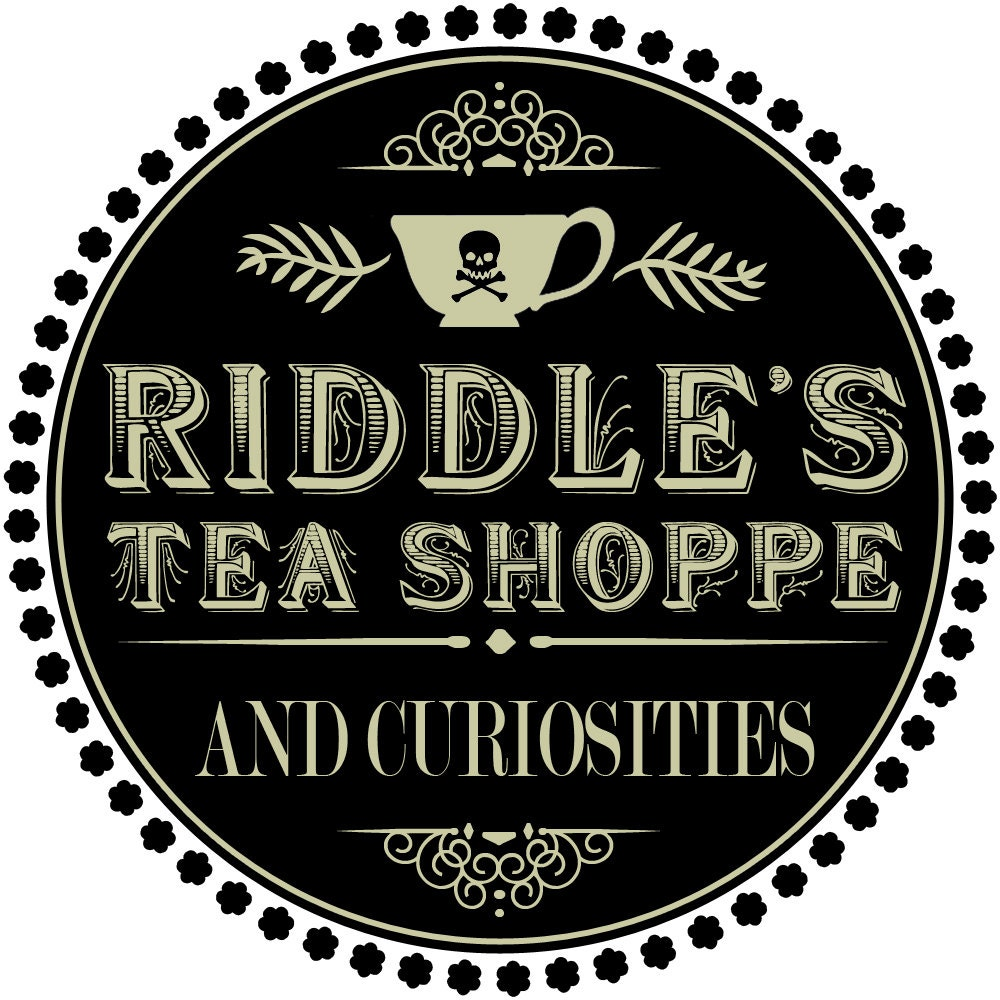 Riddle's Tea & Curiosities by RiddlesTeaShoppe on Etsy