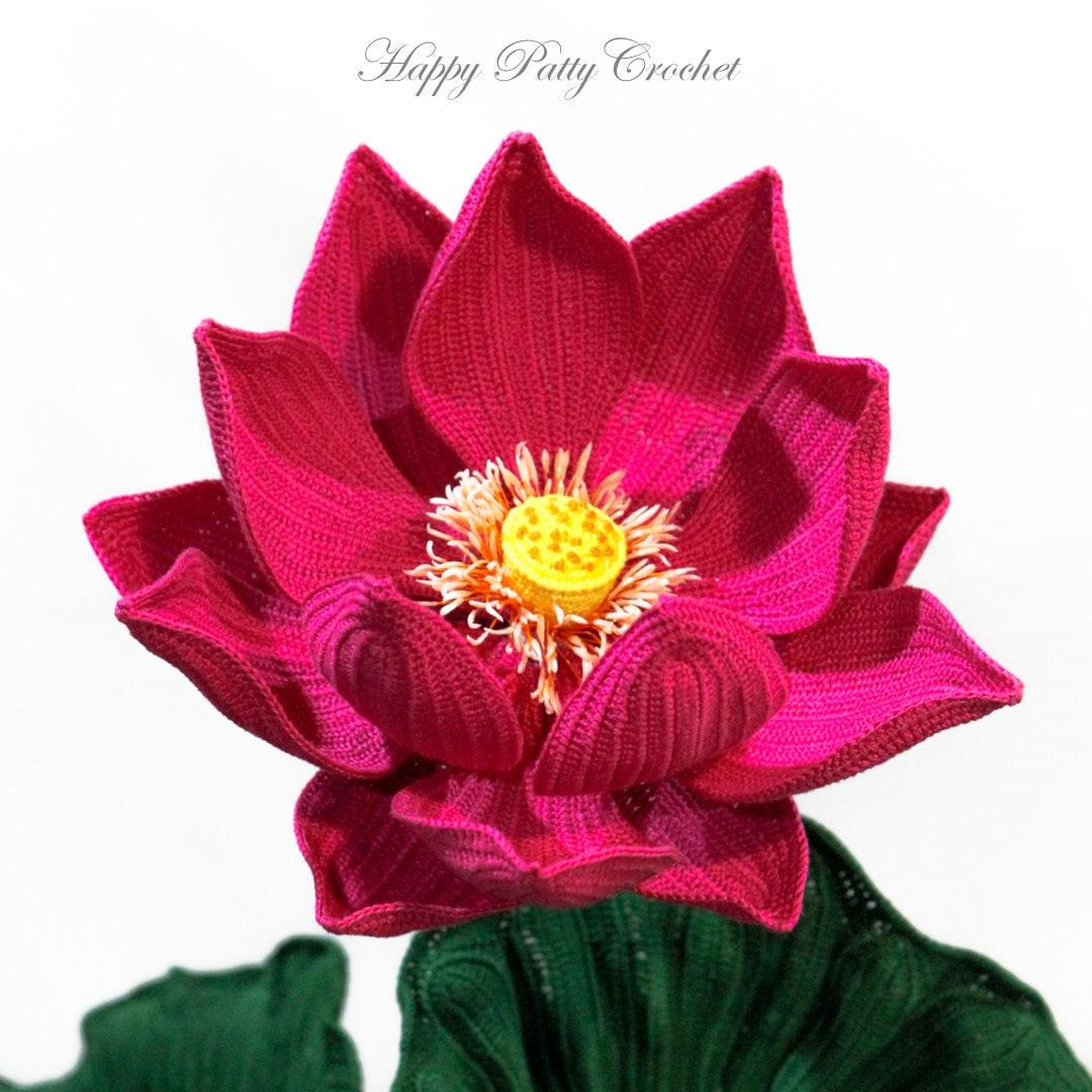 Crochet rose pattern blue moon rose crochet flower pattern etsy happypattycrochet izmirmasajfo