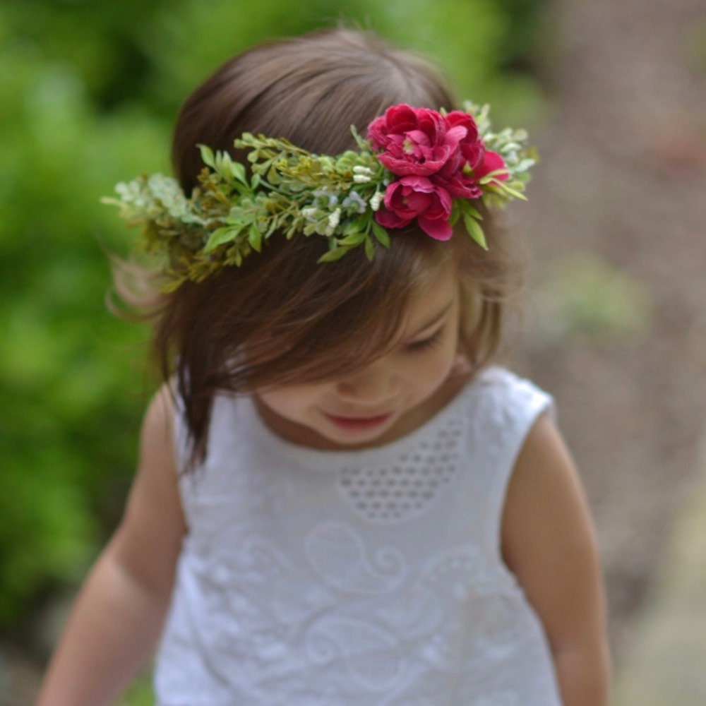 Flower crowns newborn photo props and hair by oliveraehandmade izmirmasajfo
