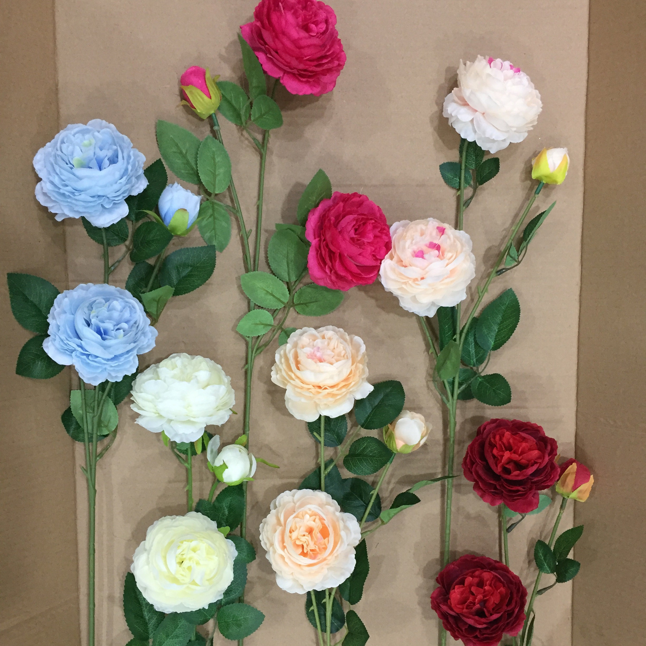 Silk flower heads wholesale silk roses heads 60 flowers 9cm etsy silkflowersstudio izmirmasajfo