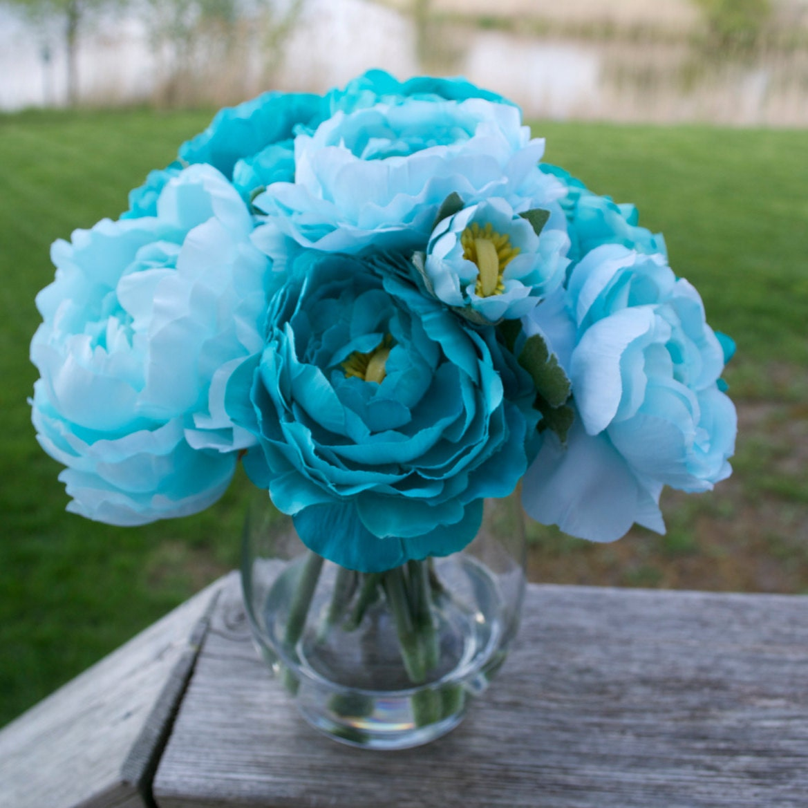 Faux Floral Arrangements For The Home By Chicagosilkflorist