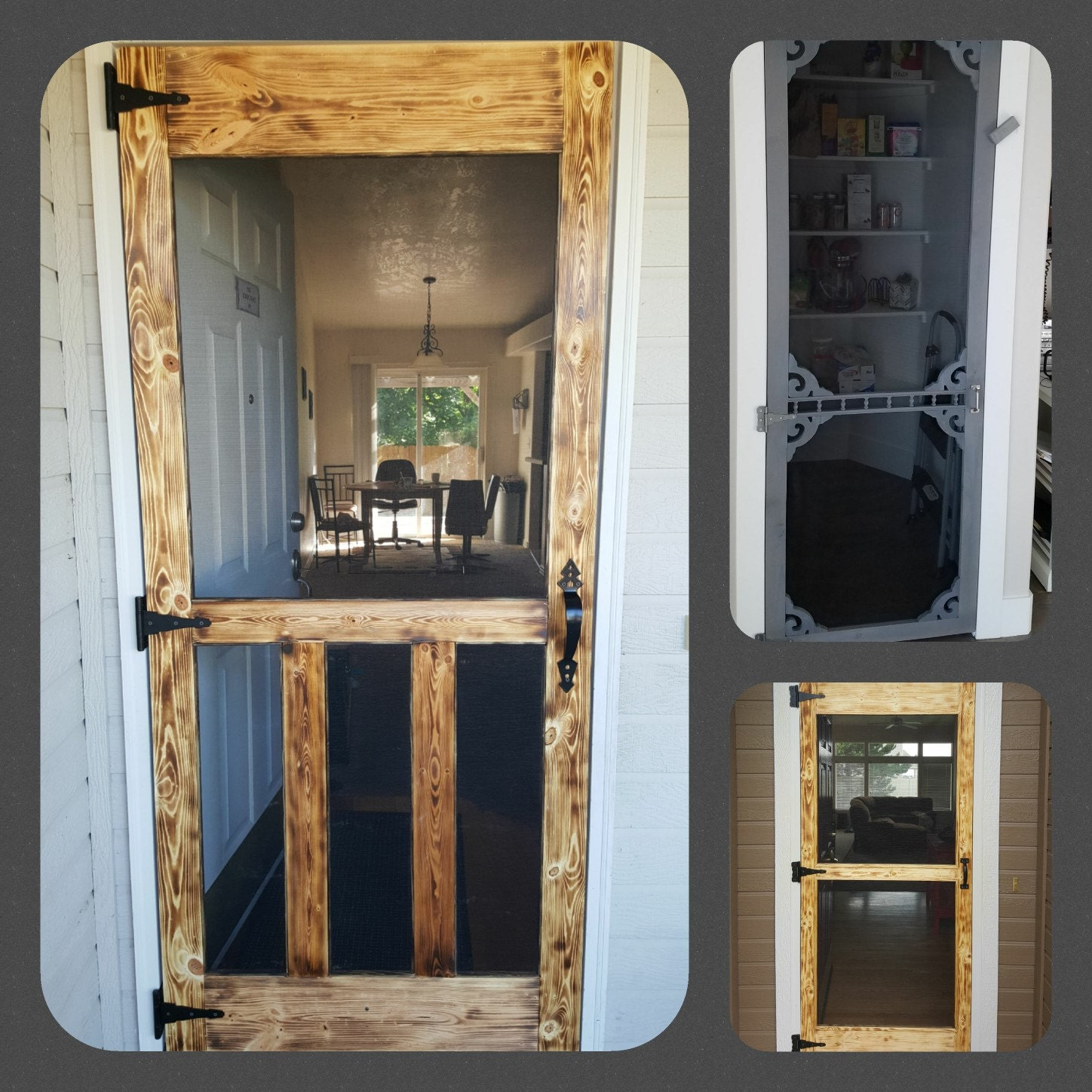 As Seen On Pintereststic Hand Made Wood Screen Doors Etsy