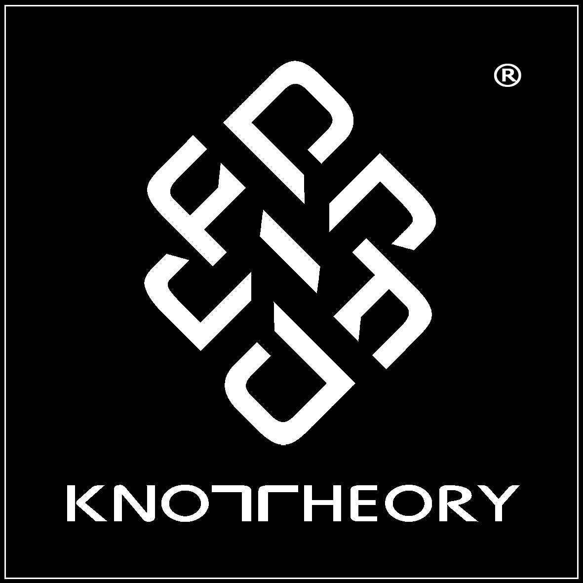 Knot Theory Bague en silicone avec bords arrondis 8 mm Taille 9