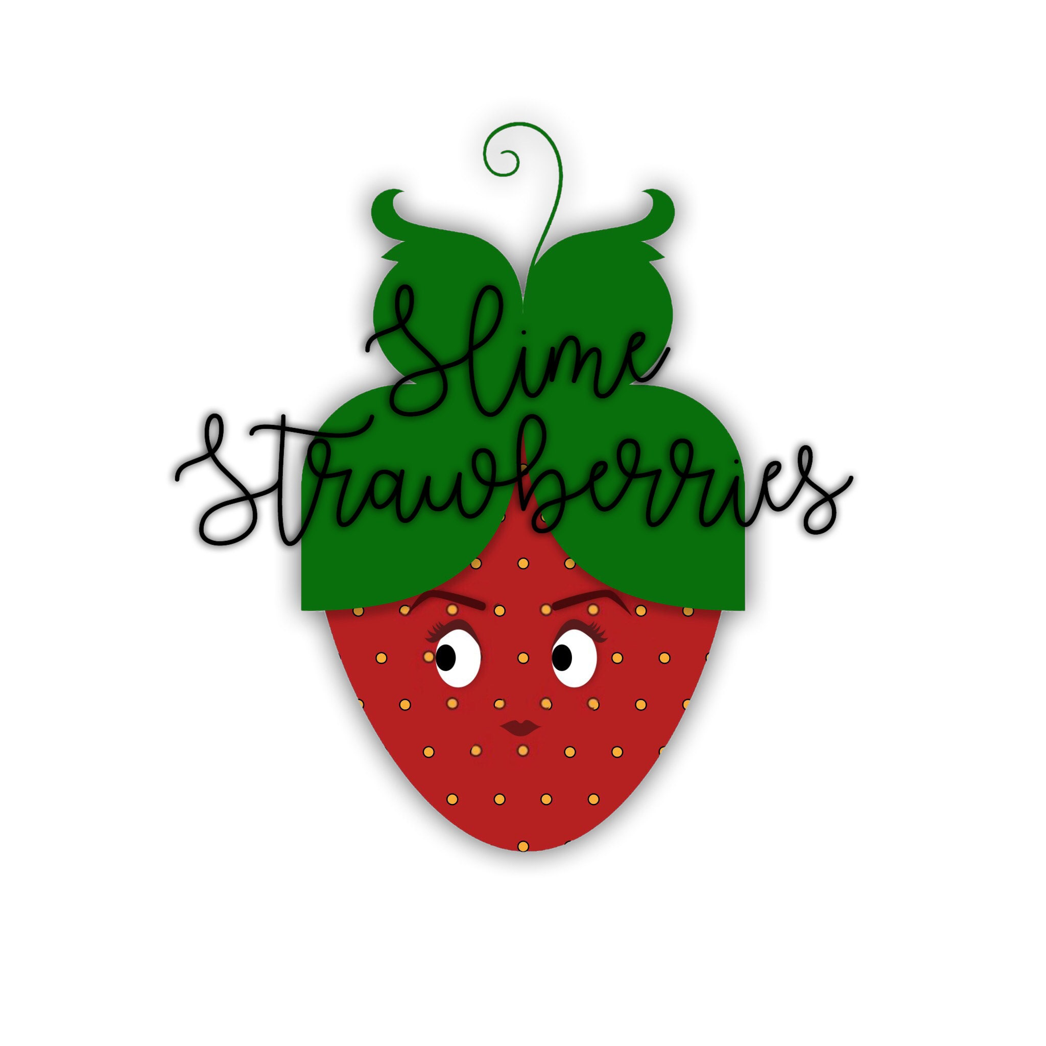Slimestrawberries en Etsy
