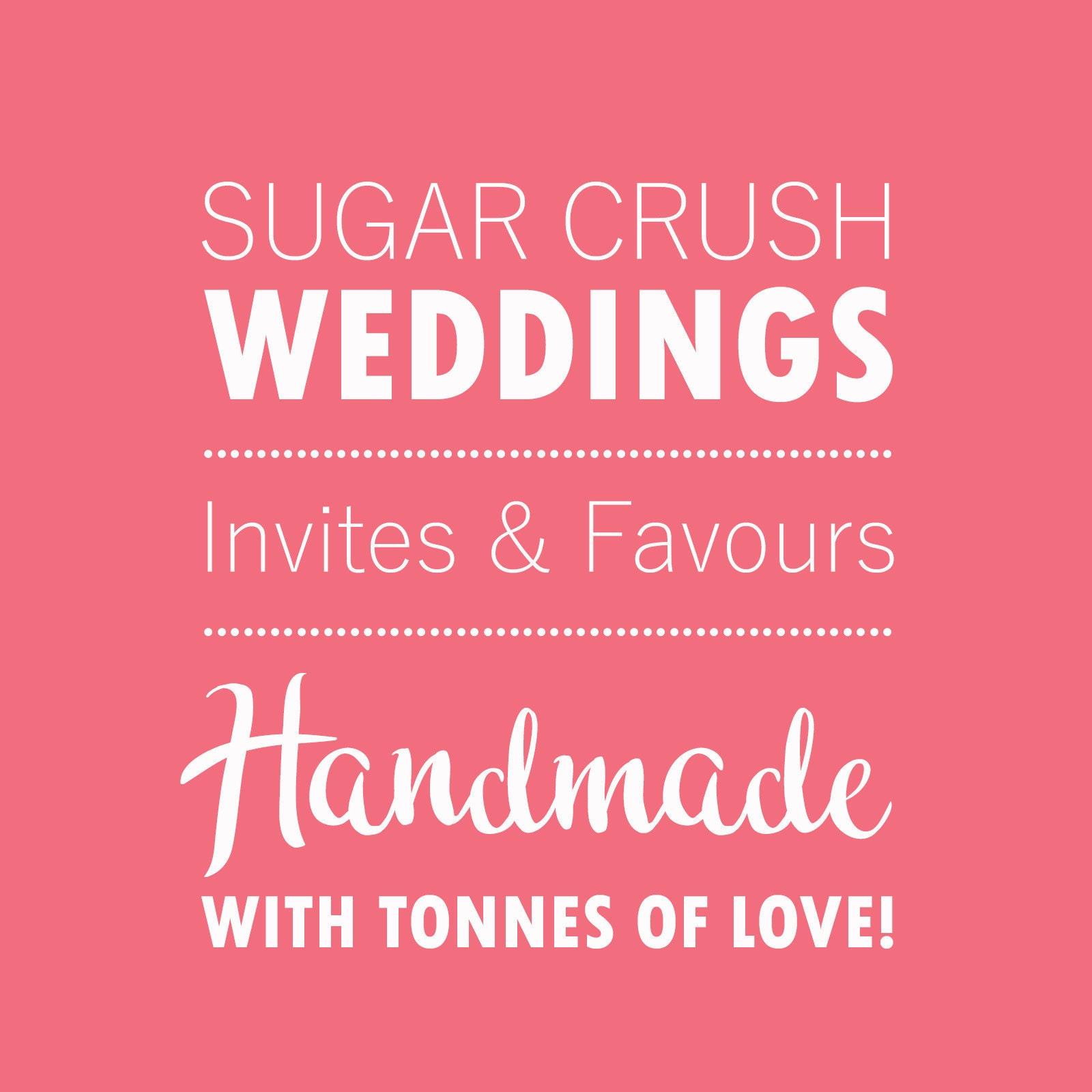 Sugar Crush Weddings by SugarCrushWeddings on Etsy