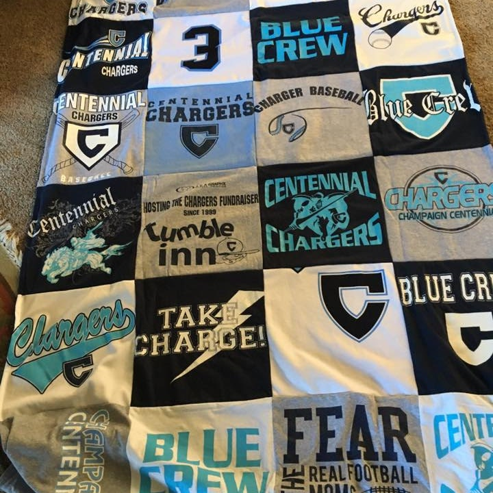 T Shirt Quilts by ProjectRepat on Etsy