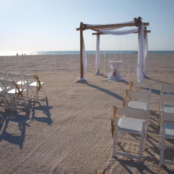Beach Wedding Arch Ideas: Beach Wedding Decorations Bamboo Arches And By