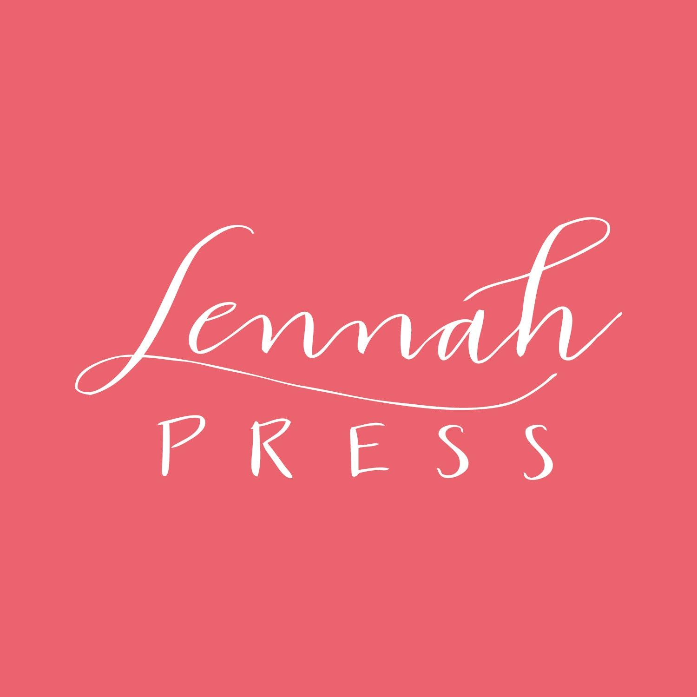 Letterpress Cards Prints & Invitations by LennahPress on Etsy