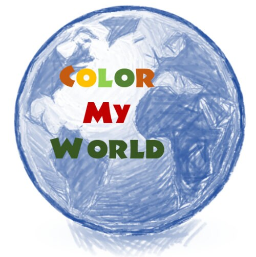 World Map Coloring Page Sales Labeled A4