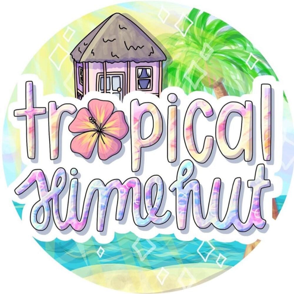 The Hut Uk Logo: Slime By TropicalSlimeHut On Etsy