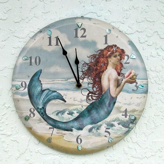 Mermaid with Sea Shells Ornament 865-23