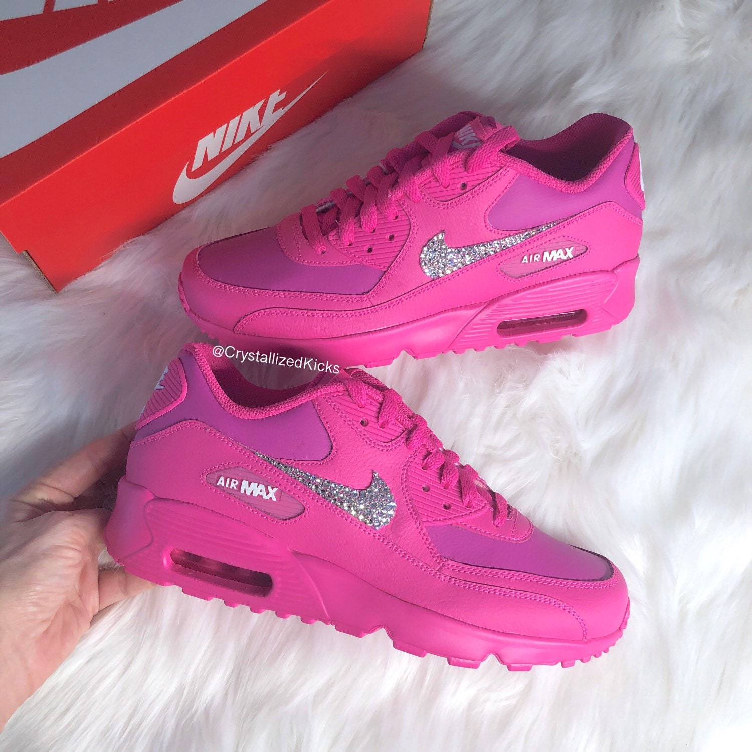 Oi! You can t buy your own item. Close. Bling Swarovski Nike Air Max ... e31c40543c