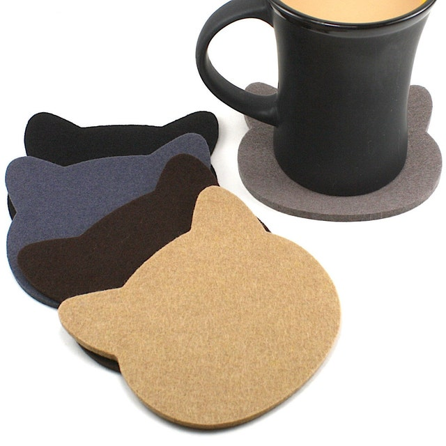 d75efb535421d Beautiful functional durable wool felt coasters   by feltplanet