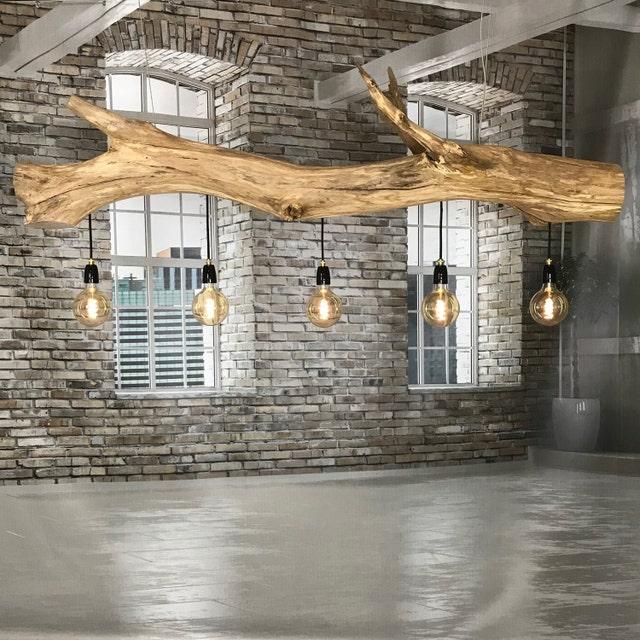 Interior lighting of very old oak por GBHNatureArt en Etsy